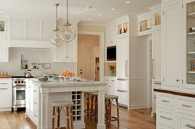 Almost Any Counter And Floor Material Work Well With Neutral Cabinet Colors